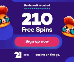 210 no deposit free spins
