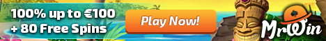 30 free spins at Mr Win Casino